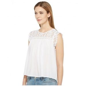 Ariat Candy Top Women White Blouse